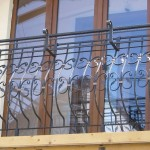 Balustrade balcon BB1b