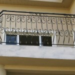 Balustrade balcon BB4a